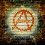 Anarchy symbol Royalty Free Stock Photography