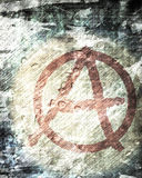 Anarchy symbol Stock Image