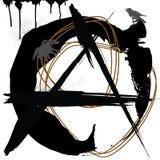 Anarquía, grunge Foto de archivo libre de regalías