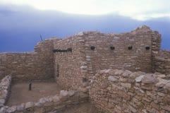Anasazi印地安废墟, Blanding, UT 免版税图库摄影