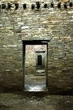 Anasazi Architecture stock image