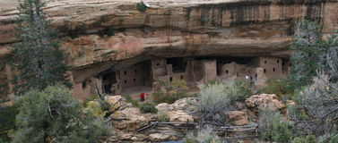 Anasazi Cliff Dwelling Royalty Free Stock Photos