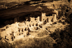 Anasazi cliff dwelling Royalty Free Stock Image