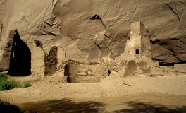 Anasazi Cliff Dwellings Royalty Free Stock Photos