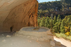 Anasazi dwelling Stock Photo