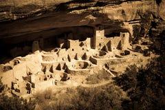 Anasazi falezy mieszkanie Obraz Royalty Free