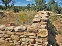 Anasazi murverk på Mesa Verde National Park Royaltyfri Foto