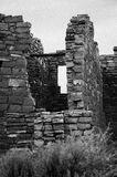 Anasazi Ruins. Black and White of Ruins remaining in Hovenweep National Monument in Colorado and Utah Stock Images