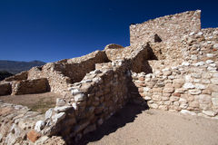 Anasazi Ruins at Tuzigoot National Monument Stock Images