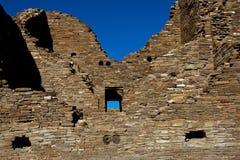 Anasaziruïne royalty-vrije stock foto