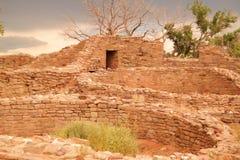 Anasazzi废墟 库存照片