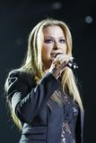 Anastacia. Singer and pop star Anastacia in concert at the Schleyer Hall in Stuttgart. AIDA Night oft he Proms. at 18:12:12 Stock Photography