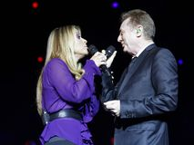 Anastacia & John Miles Royalty Free Stock Images