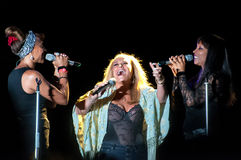 Anastacia live Royalty Free Stock Photo