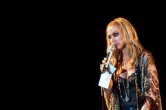 Anastacia live Royalty Free Stock Photography