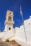 Anastasi church in Imerovigli village, Santorini Stock Photos