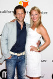Anastasia Griffith,Jamie Bamber Royalty Free Stock Images