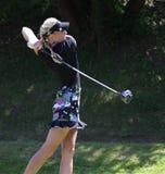 Anastasia Kostina at the Fourqueux Ladies Open 2013 Stock Photos