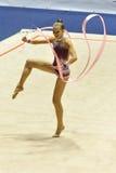 Anastasia Mishenina at A1 Italian Championship Royalty Free Stock Image