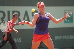 Anastasia Pavlyuchenkova - Franzosen öffnen 2012 Stockbild