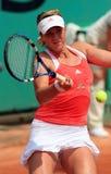 Anastasia Pavlyuchenkova (RUS) at Roland Garros royalty free stock photography
