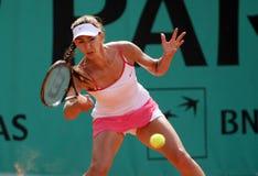 Anastasia PIVOVAROVA (RUS) at Roland Garros 2010 Stock Image