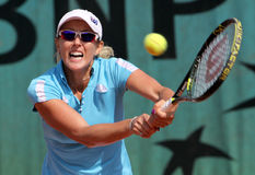 Anastasia Rodionova (AUS) en Roland Garros 2009 fotos de archivo libres de regalías