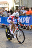 Anastasiia iakovenco Ryssland, 5th ställe. Championshi för UCI-vägvärld Arkivfoto