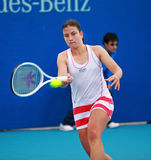 Anastasija Sevastova at the 2010 China Open royalty free stock photo