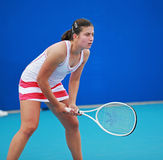 Anastasija Sevastova, joueur de tennis professionnel photo libre de droits