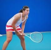 Anastasija Sevastova, professionele tennisspeler royalty-vrije stock foto