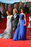 Anastasiya Makeeva bij de Filmfestival van Moskou Royalty-vrije Stock Afbeelding