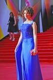 Anastasiya Makeeva at Moscow Film Festival Stock Photography