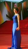 Anastasiya Makeeva no festival de cinema de Moscovo Imagem de Stock