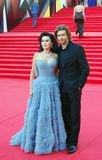 Anastasiya Zavorotnyuk and Pyotr Chernyshov Royalty Free Stock Photos