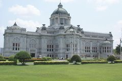 Anata Samakhom Throne Hall. Dusit Palace in Bangkok, Thailand, Asia Royalty Free Stock Photo