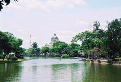 Anatasamakom宫殿,曼谷,泰国 免版税库存图片