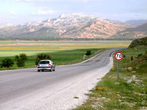 Through Anatolia. The way from central Anatolia to the Mediterranean side stock images
