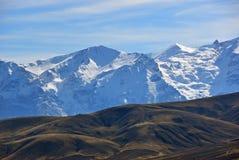 Taurus mountains, Anatolia, Turkey. Anatolia beautiful landscape. View on the snow covered Taurus mountains. Turkey Royalty Free Stock Photos