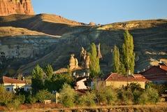 Anatolia countryside, Turkey. Rural autumn landscape at sunset time in Anatolia. Turkey Royalty Free Stock Photography
