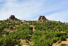 Anatolia scenery, Turkey Royalty Free Stock Photo