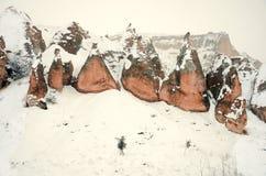 anatolia vinter Arkivbild