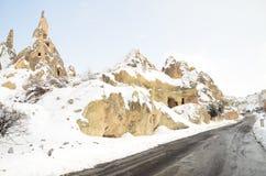 anatolia vinter Arkivfoto