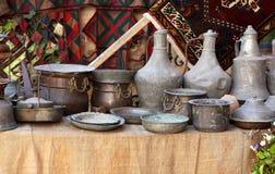 Anatolian铜对象 免版税库存照片