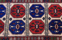 Anatolian carpet Royalty Free Stock Photos