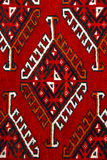 Anatolian carpet design Stock Images