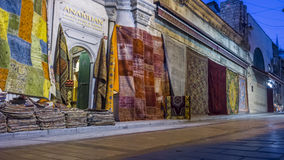 Anatolian carpets bazaar, turkey, istanbul. Anatolian carpets bazaar in istanbul Royalty Free Stock Photo