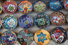 Anatolian decorative dish Stock Images