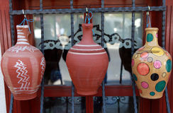 Anatolian earthenware jug Stock Images