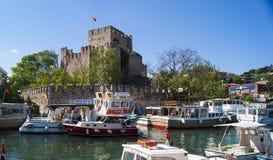 Anatolian Fortress Stock Photo